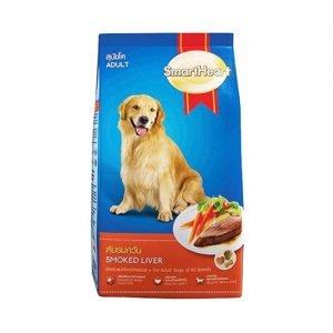 غذای خشک سگ اسمارت با طعم جگر