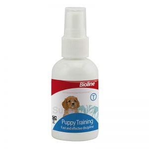 تعلیم ادرار توله سگ Bioline 300x300 - اسپری تعلیم ادرار توله سگ Bioline