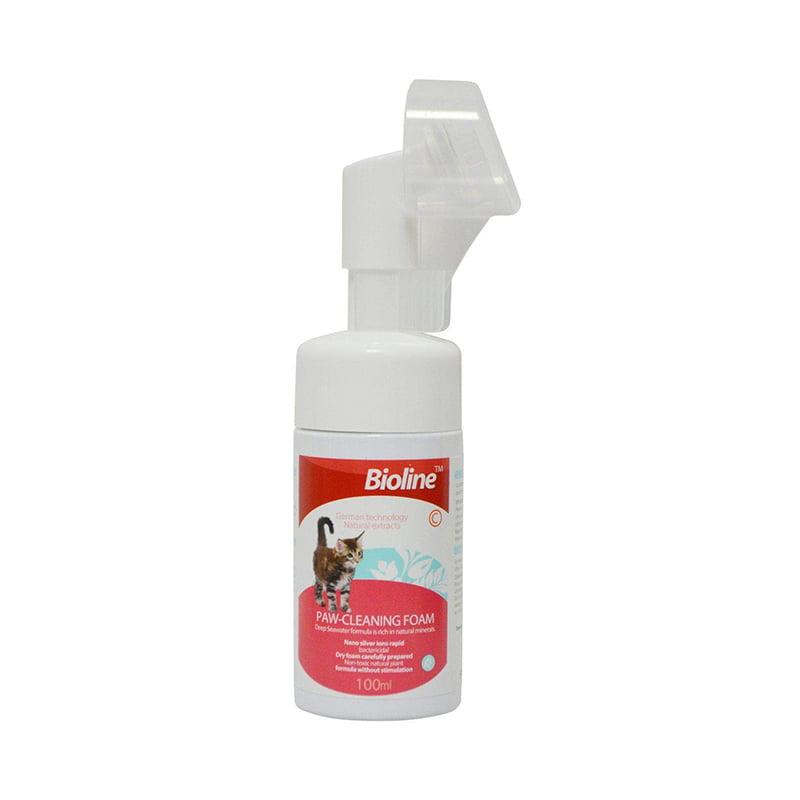 فوم تمیز کننده دست و پای گربه Bioline