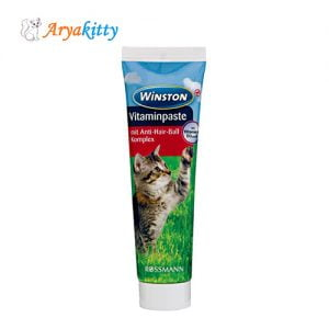 خمیر مالت گربه وینستون - winston vitaminpaste