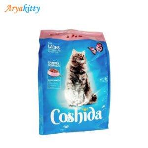غذای گربه coshida حاوی ماهی