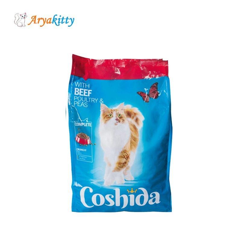 غذای گربه coshida حاوی گوشت