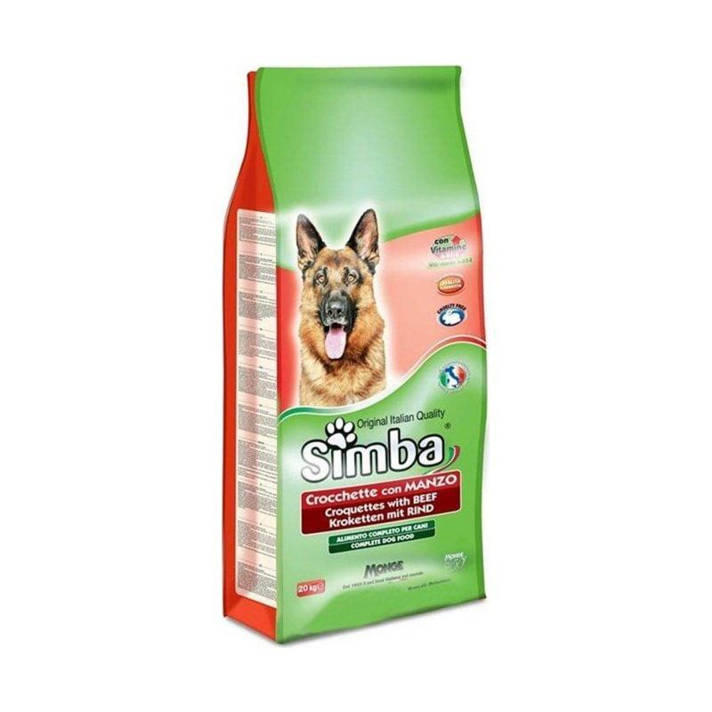 خشک سگ بالغ با طعم بیف Simba 800x800 - غذای خشک سگ بالغ با طعم بیف Simba