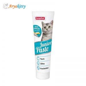 خمیر مولتی ویتامین بچه گربه بیفار - beaphar junior pasta