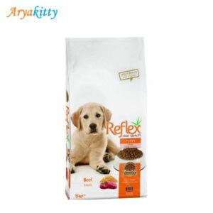 توله سگ رفلکس حاوی بیف 300x300 - پت شاپ اینترنتی آریاکیتی