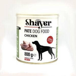 کنسرو سگ شایر پته حاوی مرغ
