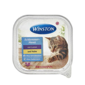 ووم گربه وینستون بره و مرغ