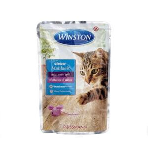 پوچ گربه وینستون گوشت و مرغ در ژله